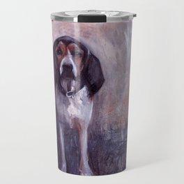 Jane the rescued hound dog Travel Mug