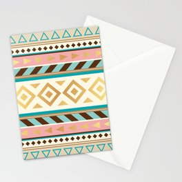 Pattern Tribal Stationery Cards