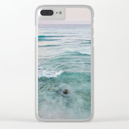 Barbados Sunset Clear iPhone Case