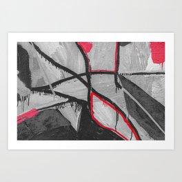 paint red Art Print