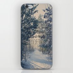 Inspirational bullshit iPhone Skin