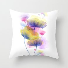 Ground up Throw Pillow