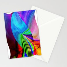 The leaf falls Stationery Cards