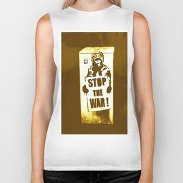 STOP THE WAR !!! Biker Tank