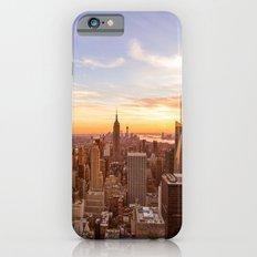 New York City Sunset - Midtown iPhone 6s Slim Case