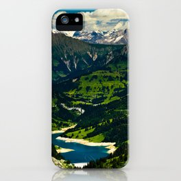 Swiss Alps iPhone Case