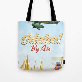 Idaho! By air Poster Tote Bag