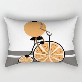 Orange ride Rectangular Pillow