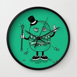 McWealthy  Wall Clock