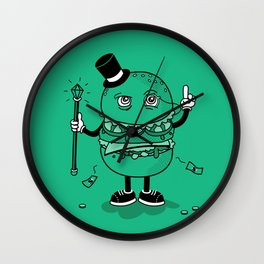 McWealthy  Wall Clock