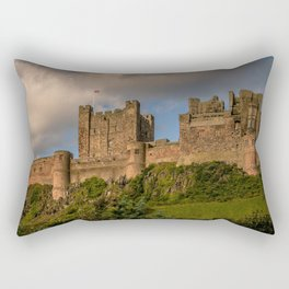England Northumberland Bamburgh Castle castle Cities Castles Rectangular Pillow