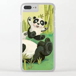 Babies on Bellies Clear iPhone Case