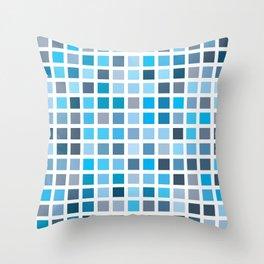 City Blocks - Sky #958 Throw Pillow