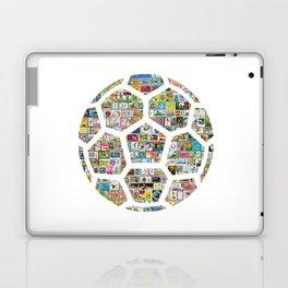 Philately Soccer Ball Laptop & iPad Skin