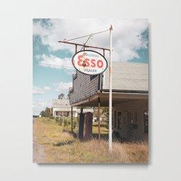 Colonial Esso Metal Print