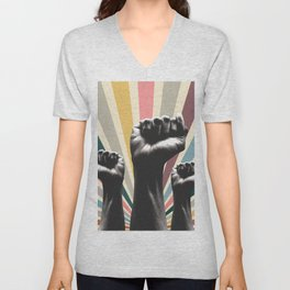 01 Fight for your right Unisex V-Neck
