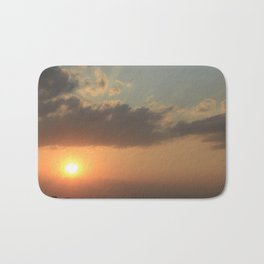 Kansas Coronado Heights Sunset Bath Mat