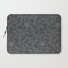 Sharkskin Lace Floral Laptop Sleeve