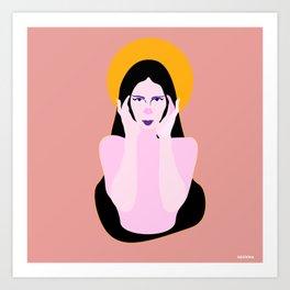 Contemplation 2 Art Print