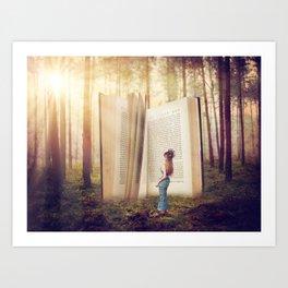 The Presence of Wonder Art Print