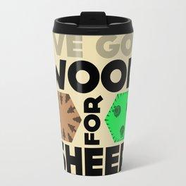 Wood for Sheep (Catan series) Travel Mug