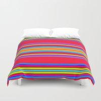 blanket Duvet Covers featuring Guatemalan Blanket by StudioBlueRoom