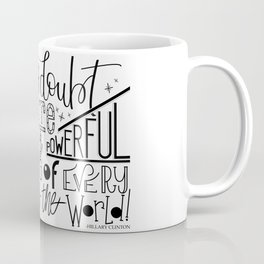 Never doubt Coffee Mug