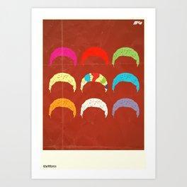 The Worm Art Print
