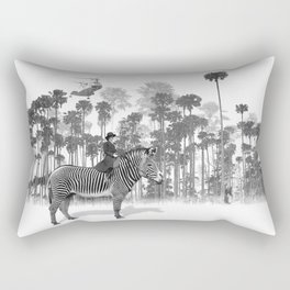 Thrill of the Chase Rectangular Pillow