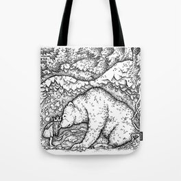John Bauer Bear Tote Bag
