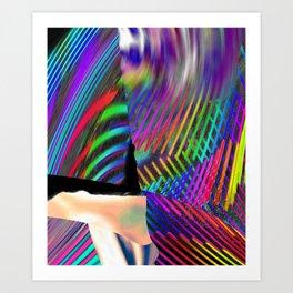 Rainbow Strate Art Print