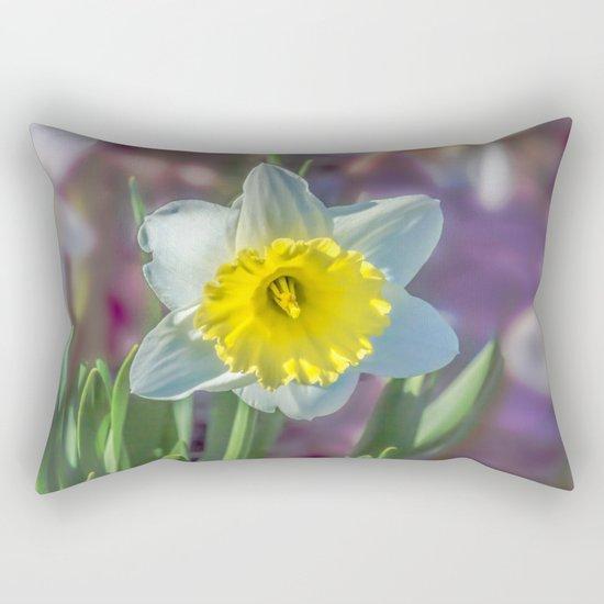 Narcissus Rectangular Pillow