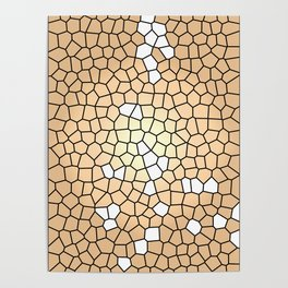 Autumn Mosaic Poster