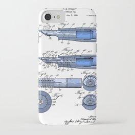 Fountain pen patent iPhone Case