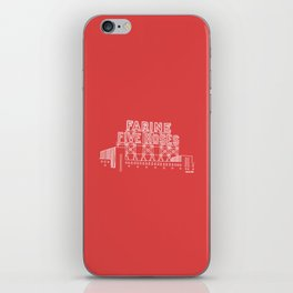 Montréal - Farine Five Roses - White iPhone Skin