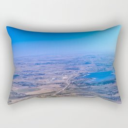 Superman's perspective Rectangular Pillow