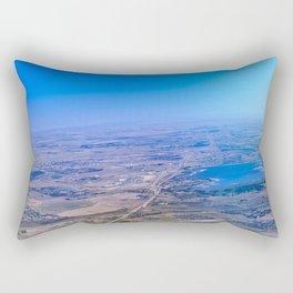 Superman's perspective Rectangular Pillow