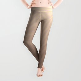 RoseGold Stripes Leggings