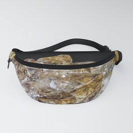 Citrine Crystals Fanny Pack