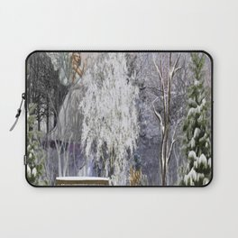 The Magic Of A Winter Day Laptop Sleeve