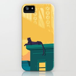 Urban jaguar iPhone Case
