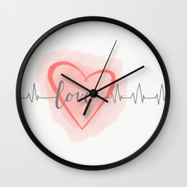 Lovely Bliss Wall Clock