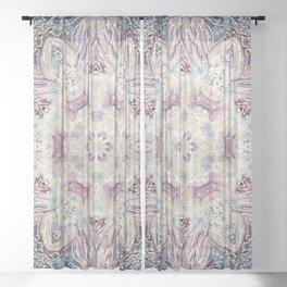 Mandala 40 Divine Creation Sheer Curtain