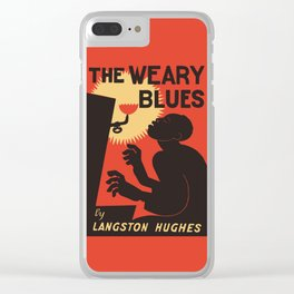 Retro The Weary Blues (music) Clear iPhone Case