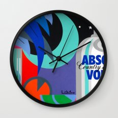 Absolut at Night - Paint Wall Clock