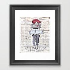 Street Love Framed Art Print