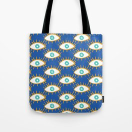 Eyes don't lie Tote Bag