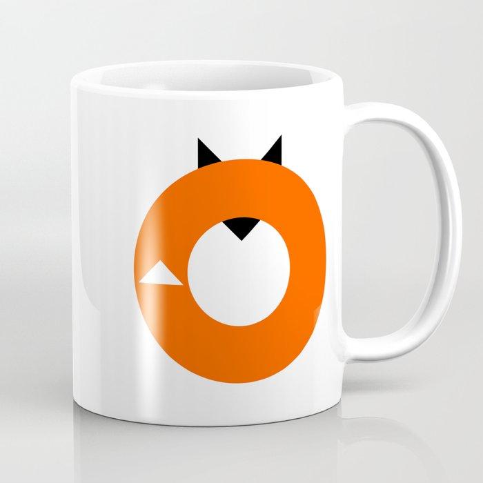 A Most Minimalist Fox Coffee Mug By Nicholasely