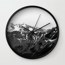 mountain adventure Wall Clock