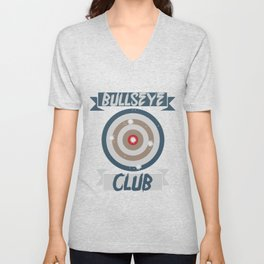 Target Shooting Archery Archer Gift Unisex V-Neck
